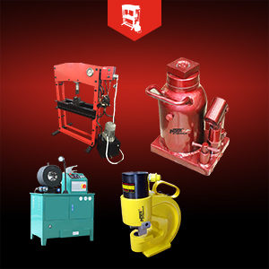 HYDRAULIC PRESS, HOSE CRIMPING & JACKS